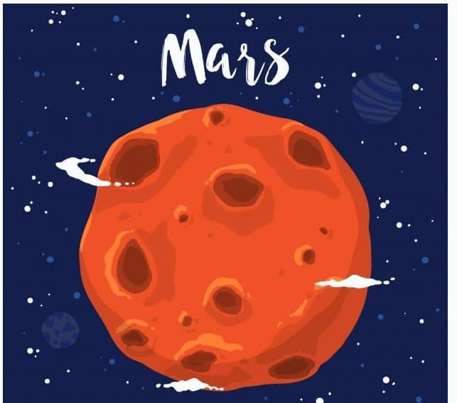 Mars Ne Tarafa Dönüyor.