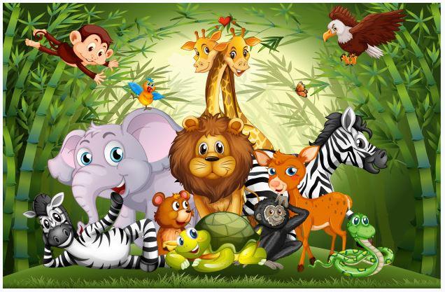 Ormanlar Kralı Aslan ve Dostluk